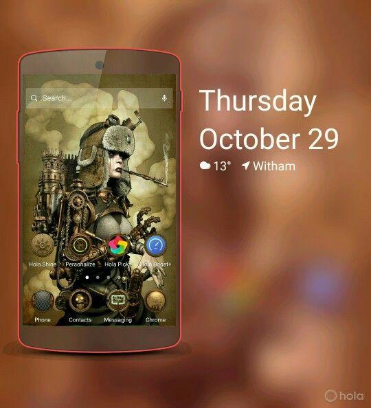 Theme steampunk