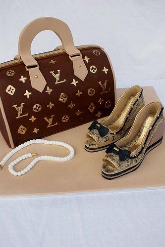 LV Bag   by Verusca's Cake
