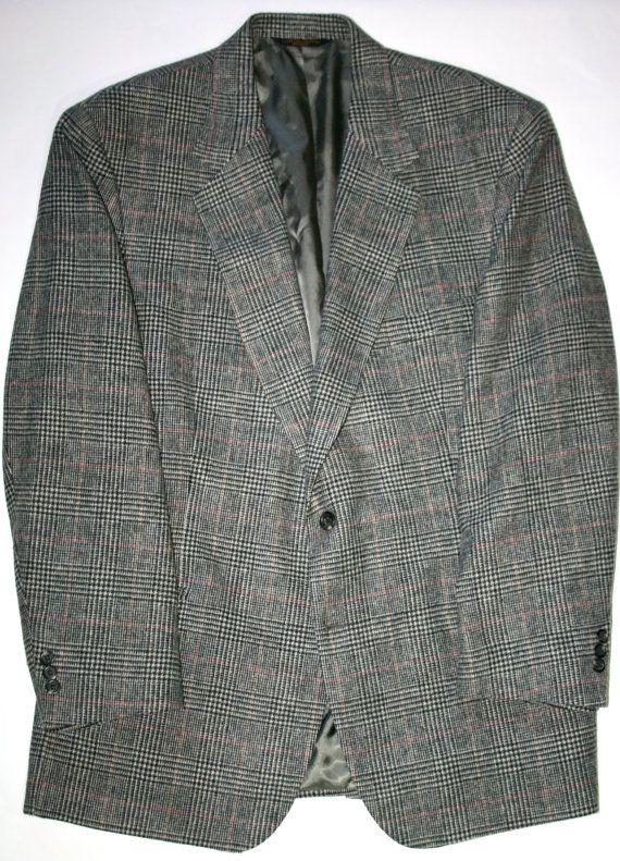 Vintage Mens Brooks Brothers Wool Sport Coat available at VintageMensGoods, $85.00