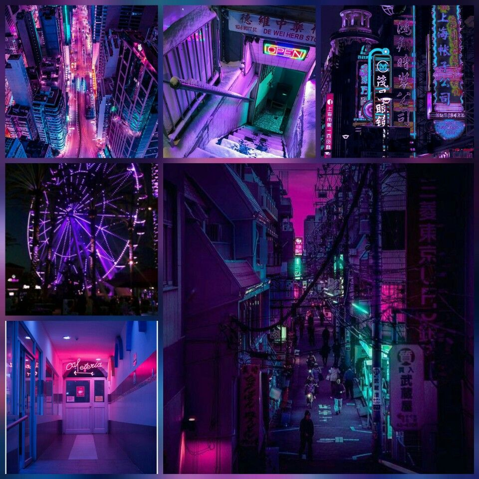 ac9e754a1d Neon, retro, lights, dark, light, bright, futuristic, badlands, aesthetic,  tumblr, moodboards, follow @f.aesthetic_ on instagram for more