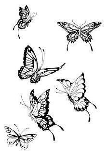 Photo of Schmetterlings-Zeichnung –  Tattoos Half Sleeve Tattoos für Frauen: Schmetterli…