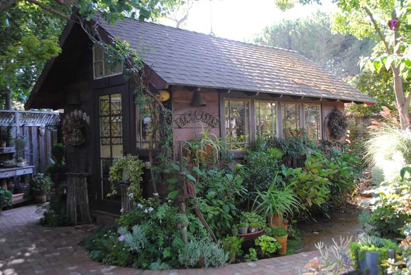 The Heartbeat Of My Garden My Transformed Shed Cottage Garden Garden Shed Garden Structures