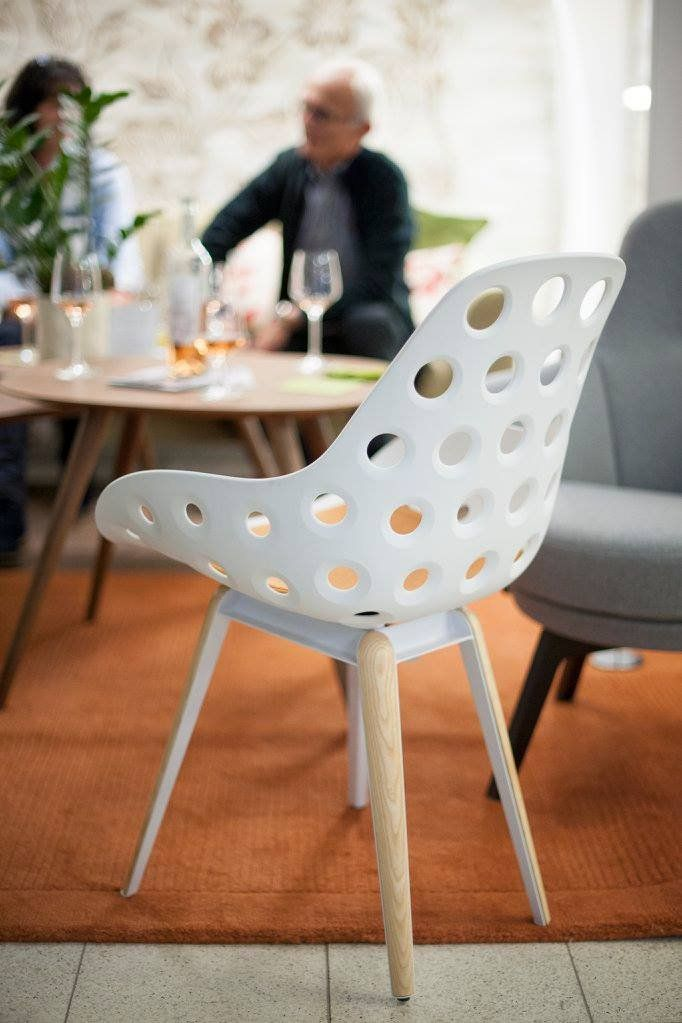 Slice chair by Sander Mulder  Sturdy enough to stand the
