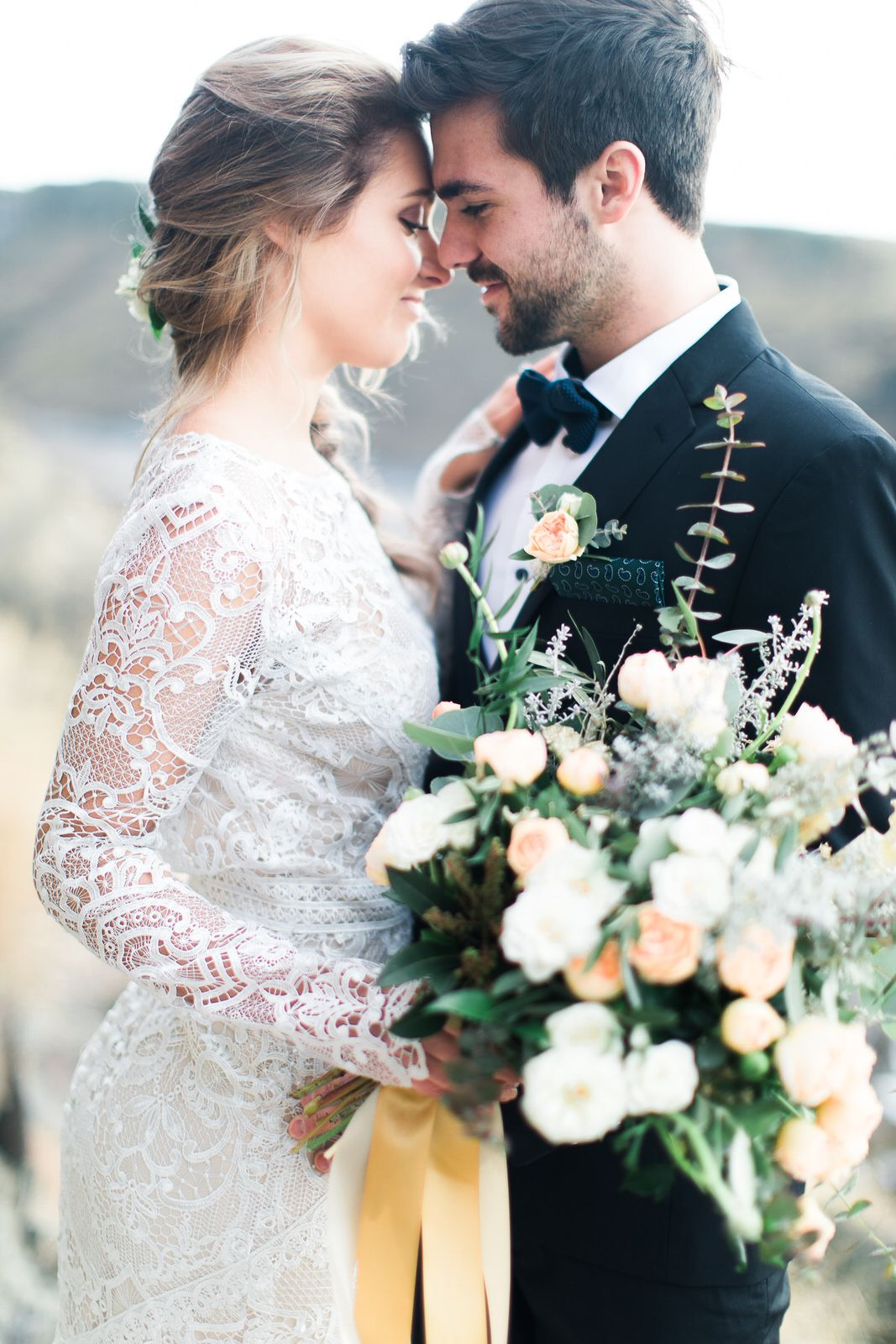 Eszter & Taylor. Boise Idaho. Outdoor lucky peak wedding. Tara ...
