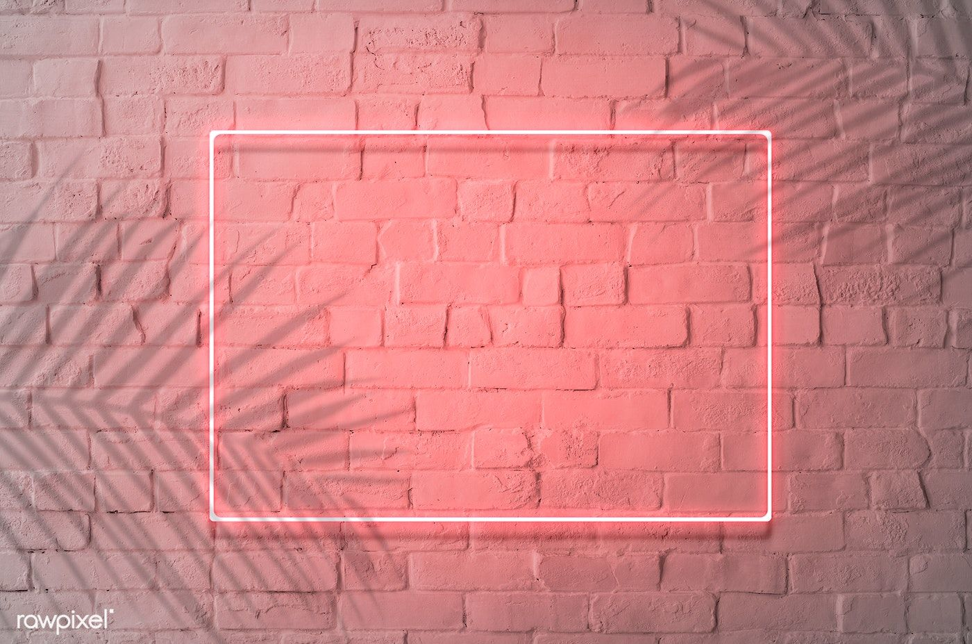 Download Premium Psd Of Neon Red Frame On A Brick Wall 894323 In 2020 Neon Signs Neon Wallpaper Wallpaper Notebook