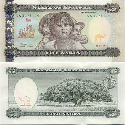 Image result for Eritrean nakfa
