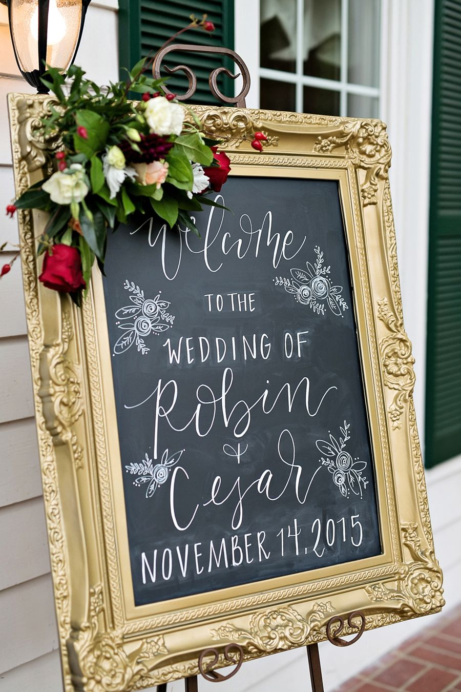 A rustic romantic red wedding every last detail