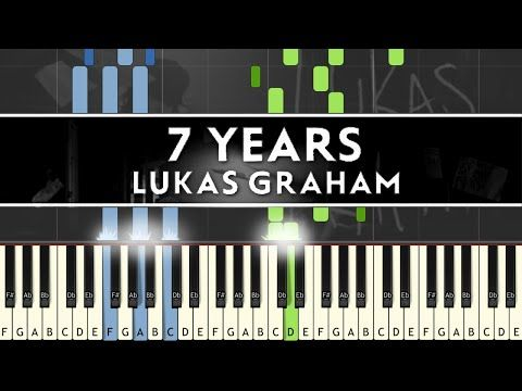 Lukas Graham 7 Years Piano Cover Tutorial With Sheet Music