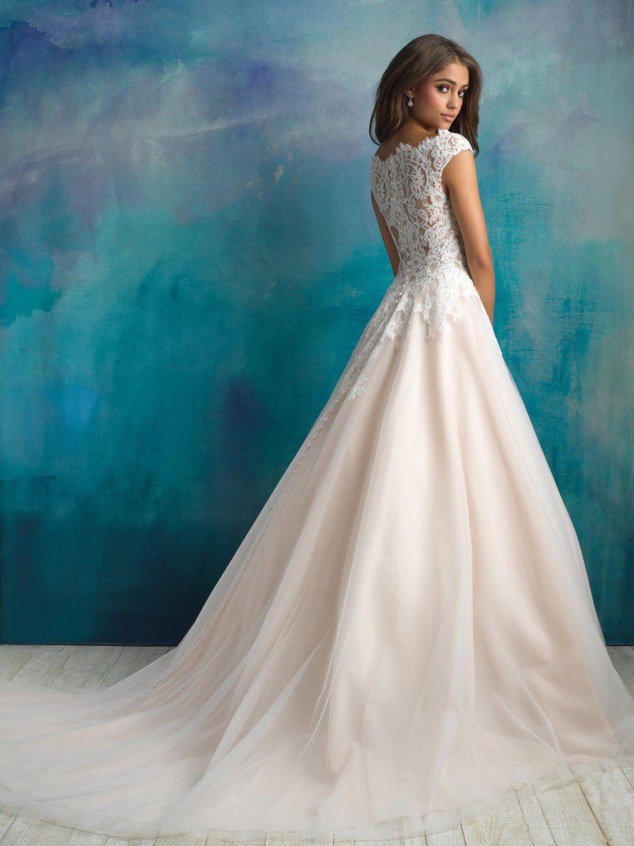 Pin by Tara Martarano on Wedding   Pinterest   Wedding dress, Allure ...