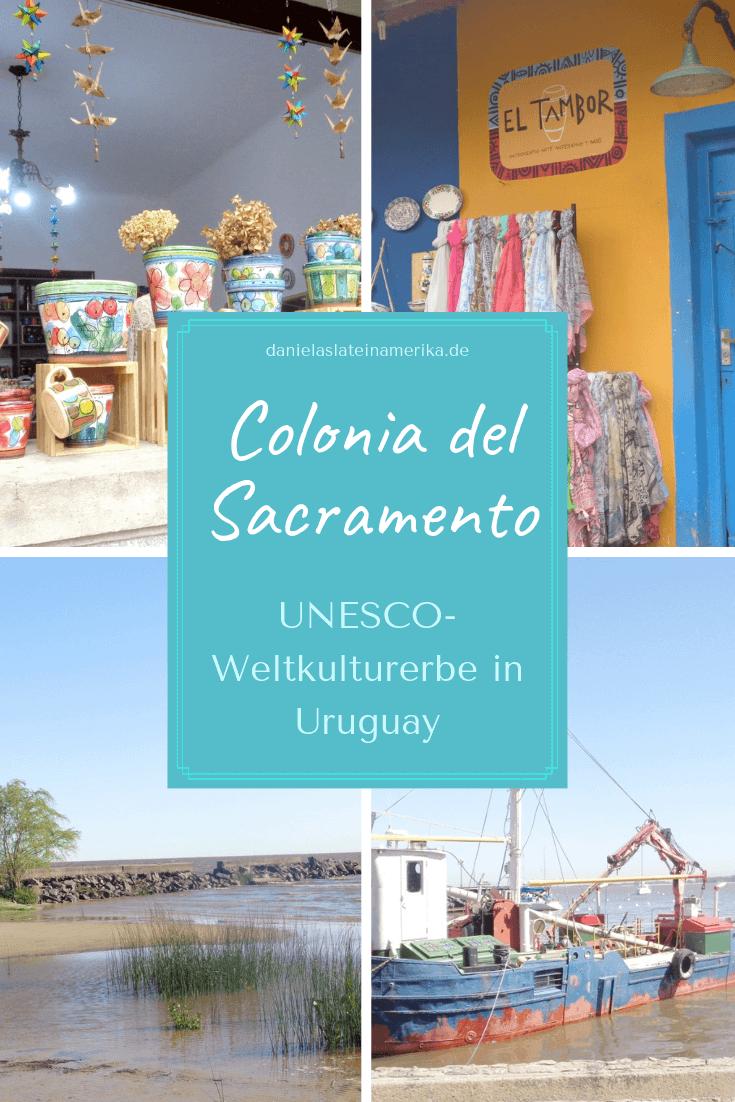 Colonia del Sacramento ist eine wunderschöne kleine Stadt am ...