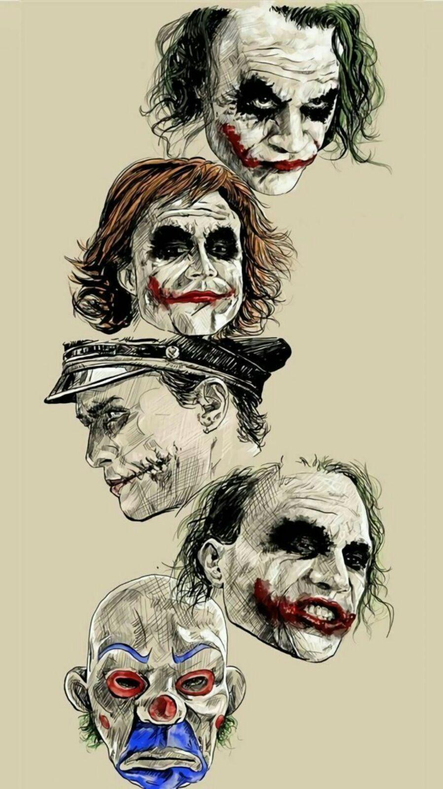 Idea De Cesar Ramirez Confe En Joker Comics De Batman Batman