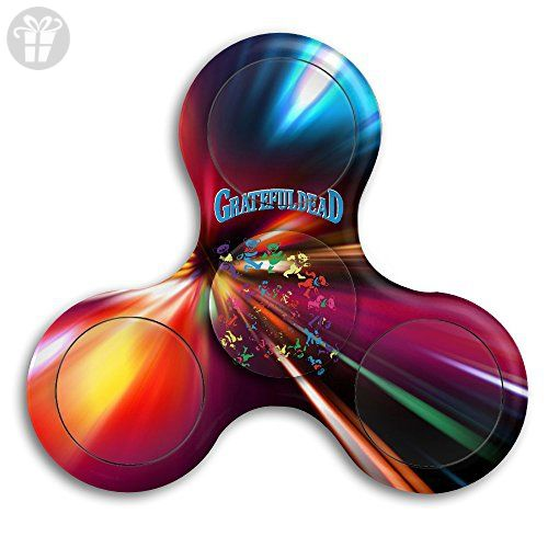 Grateful Dead Dancing Bear Tri Fid Hand Spinner Fid Work