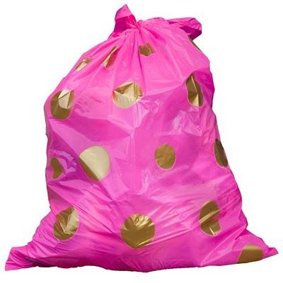 Um You Might Actually Want To Take Out The Trash With These Pink Love Trash Day Trash Bag