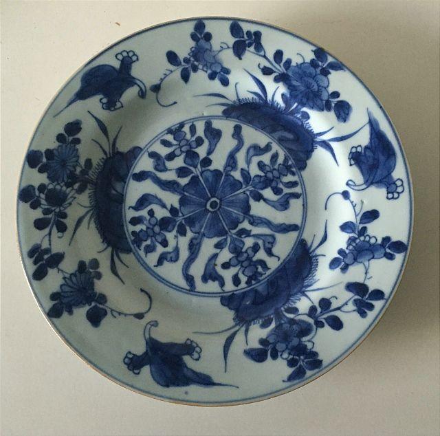 Online veilinghuis Catawiki: Porceleine bord - China - 18e eeuw
