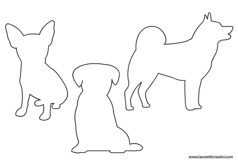 Carta Da Parati Bambini Fanny Dogs: Sagome Cani Da Stampare In Sagome Lavoretti