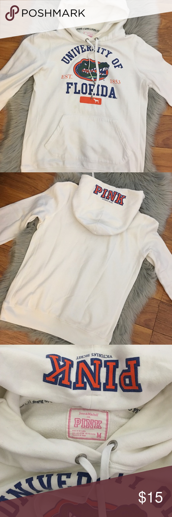 🐊VS PINK University Of Florida Hoodie🐊 | vs Pink, White hoodie ...