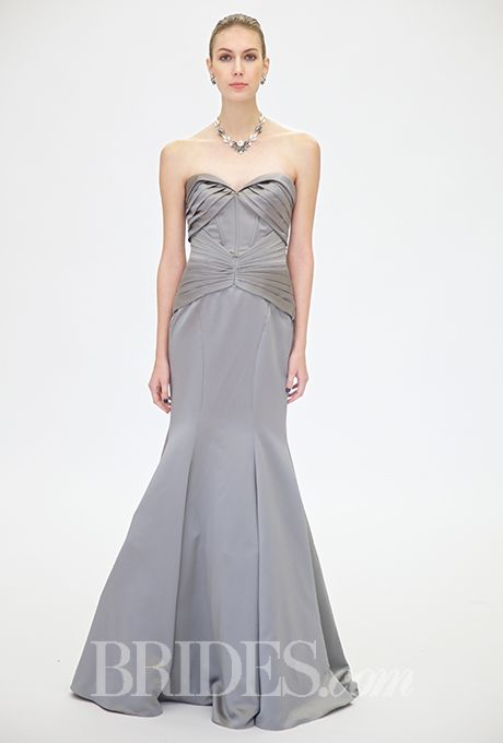 Truly Zac Posen - Fall 2015 | Silhouettes, Wedding dress and Colored ...
