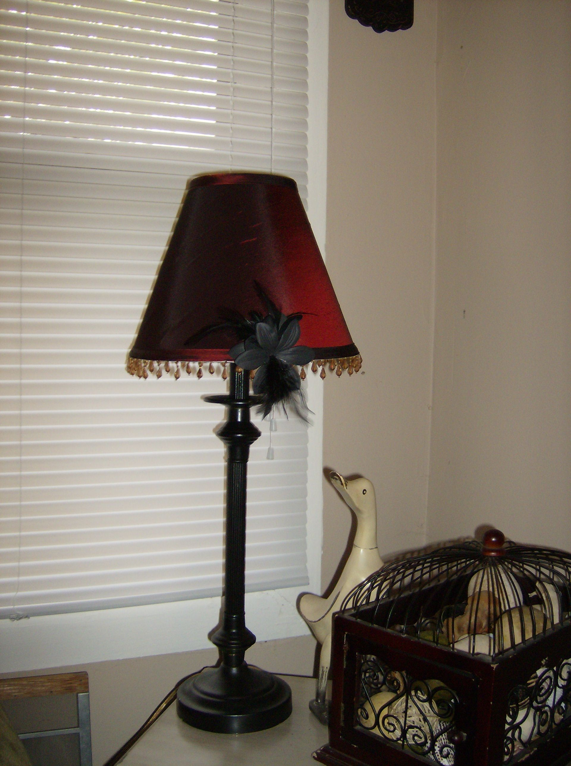 Antique Lamp Shade Frame