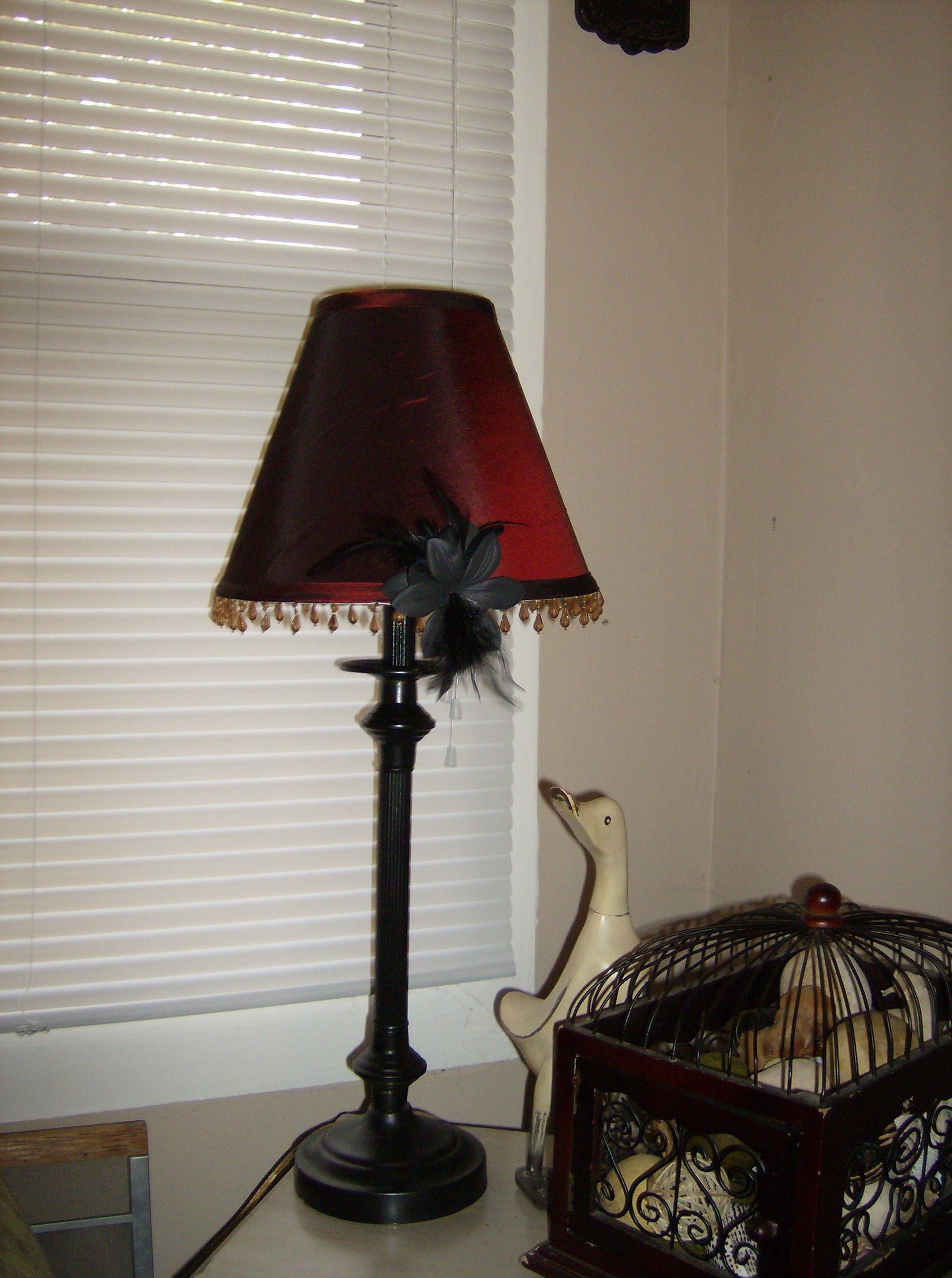 Repurposed Lamp Shade Ala Hobby Lobby Antique Lamp Shades Rose