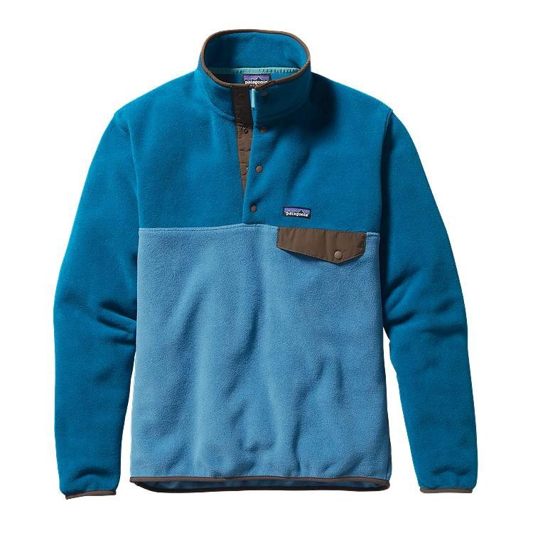 Patagonia Men's Lightweight Synchilla Snap-T Pullover- Underwater Blue from  Shop Southern Roots TX