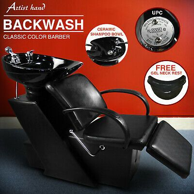 Details About Barber Backwash Shampoo Chair Ceramic Bowl