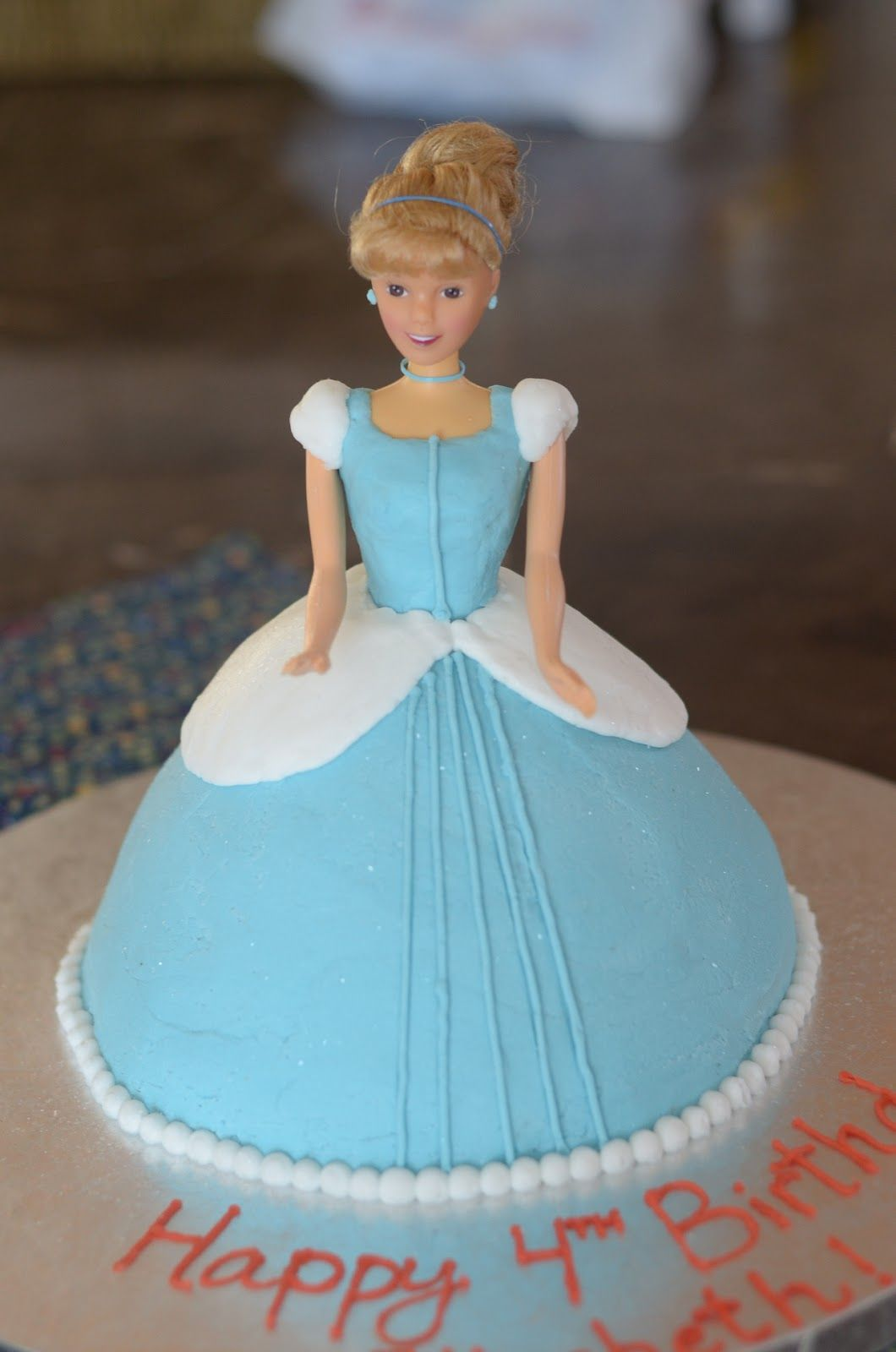 Super Cinderella Cake Decorations With Images Cinderella Birthday Birthday Cards Printable Inklcafe Filternl
