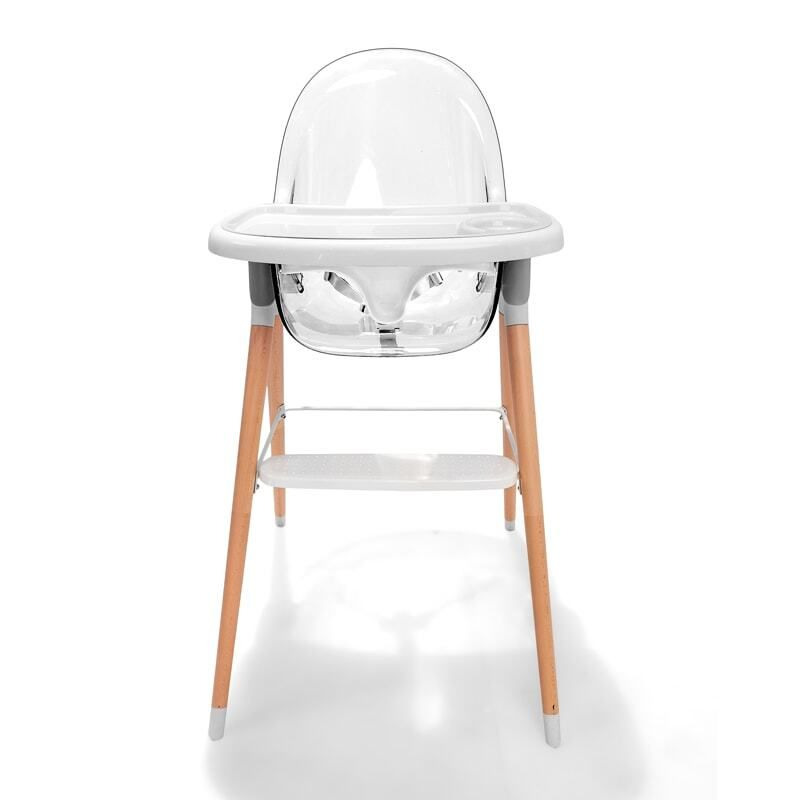 Star Kidz La Vista Transparent Deluxe Baby High Chair Baby High Chair Wooden Baby High Chair High Chair