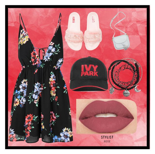 """Sin título #505"" by bravotamara on Polyvore featuring moda, Glamorous, Puma, Ivy Park y Smashbox"