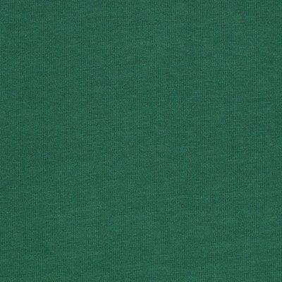 Baumwolljersey - dunkelgrün mit 5% Elasthan, 195g