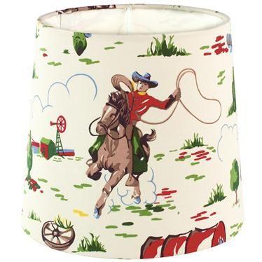 Cath Kidston Cowboy Large Lampshade Cowboy Room Toy Story Bedroom Cowboy Lamp
