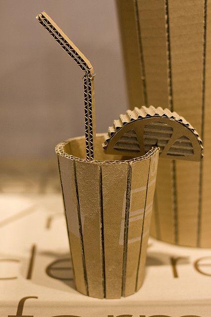 Cardboard Sculpture With Images Cardboard Art Cardboard