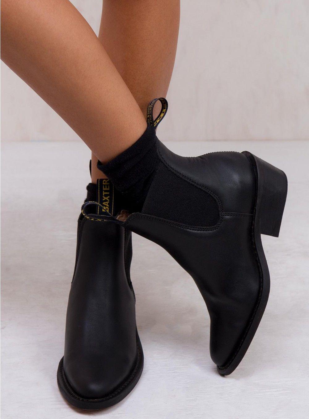 Baxter Dancer Boots Black | Boots, Baxter boots, Black boots