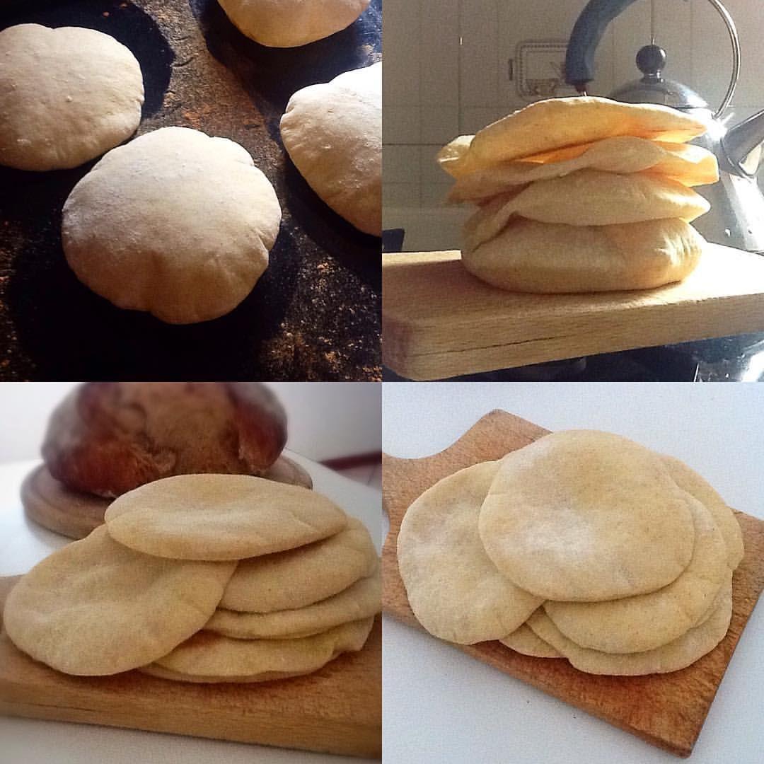 """773 Me gusta, 42 comentarios - Claudia Romero Panadera 😎🇦🇷 (@amasa.madre) en Instagram: """"✌Quería hacer unos panes árabes, para agasajar... 😉 Estoy en un pueblo perdido en el monte Bondone…"""""""
