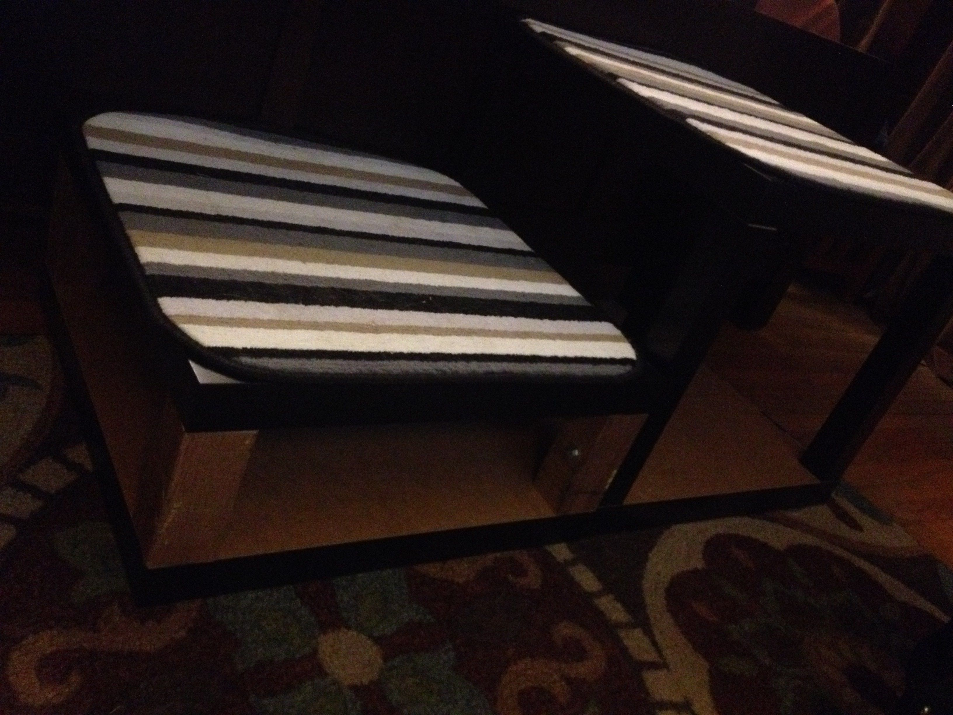 Hacking Cheap Ikea Tables Into Dog Stairs. Via GeekDad