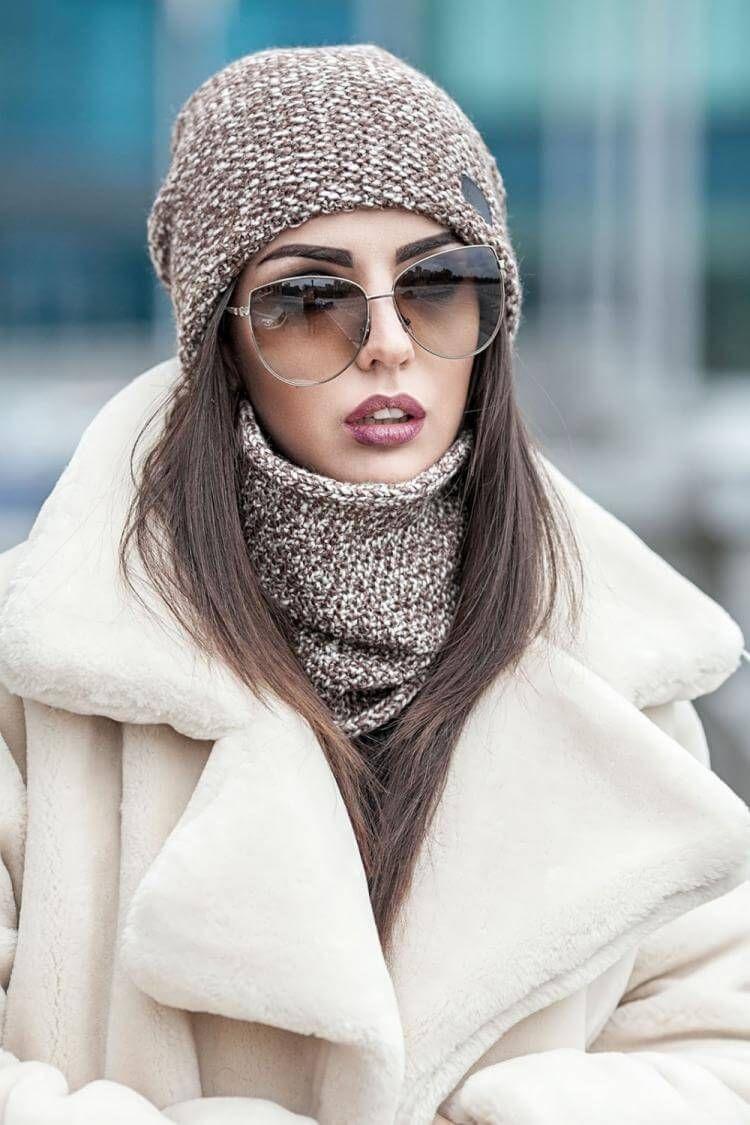 Модные шапки осень-зима 2019-2020 - 100 фото стильных ...
