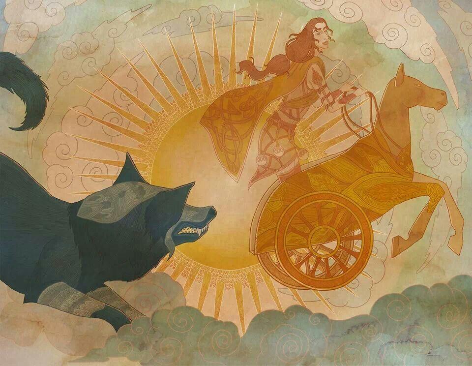 Resultado de imagen para viking god sunna