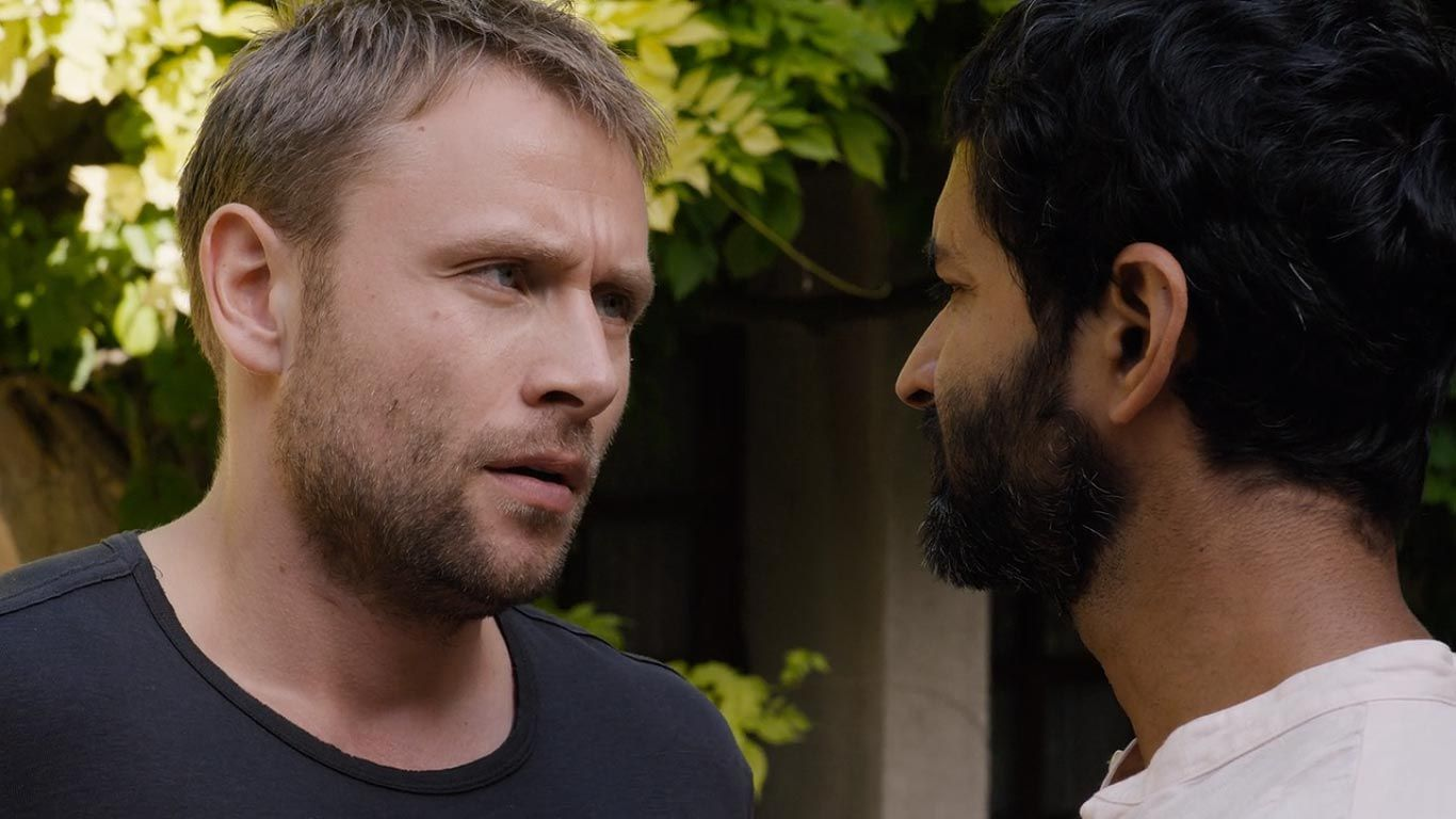 Max Riemelt as Wolfgang & Purab Kohli as Rajan in season 2