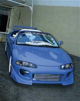 1997 Mitsubishi Eclipse GST Spyder #blue