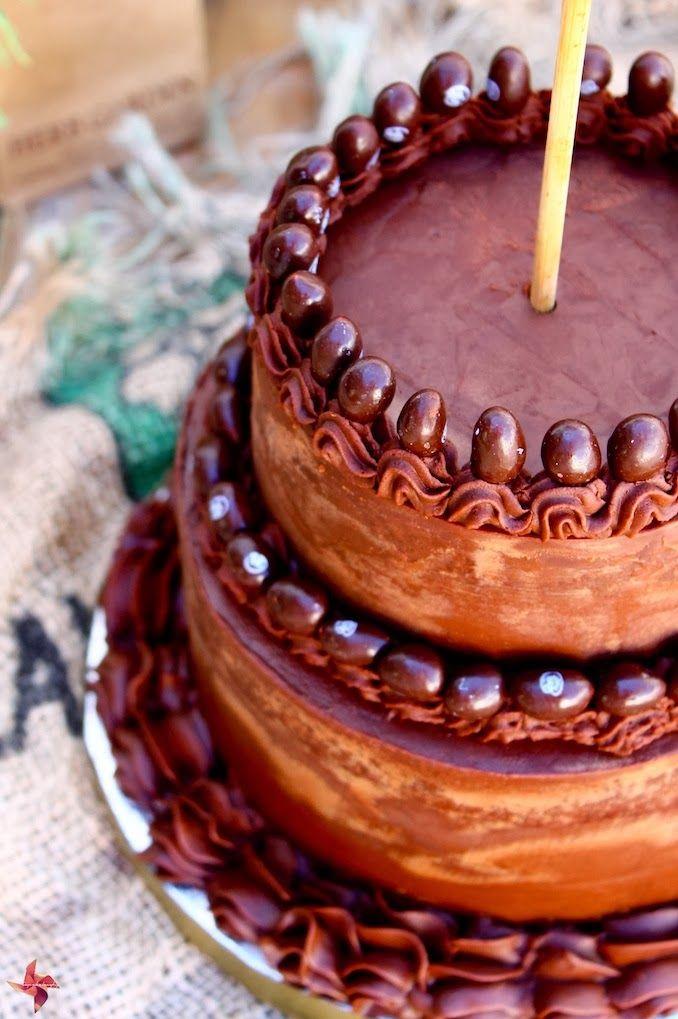 Tarta de chocolate 2 pisos