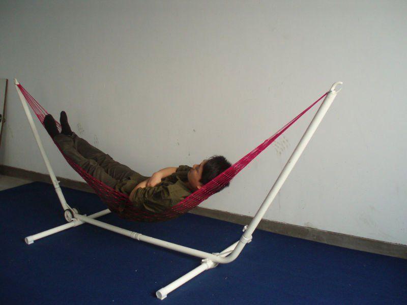 pvc hammock stand diy pinterest kreativ und g rten. Black Bedroom Furniture Sets. Home Design Ideas
