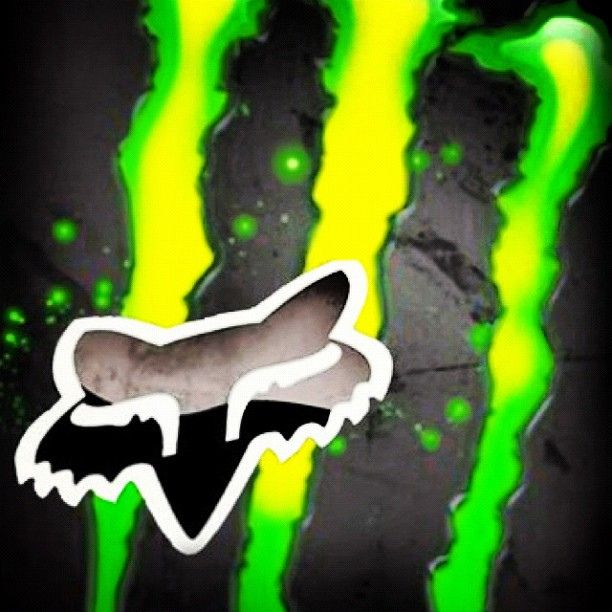 monster energy and fox racing photo monster energy