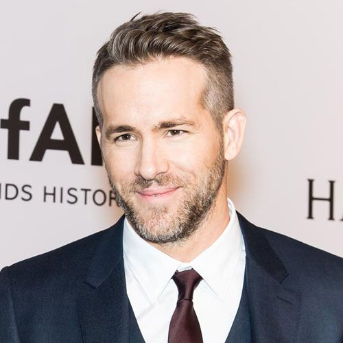 Ryan Reynolds Haircut Side Hairstyles Ivy League And