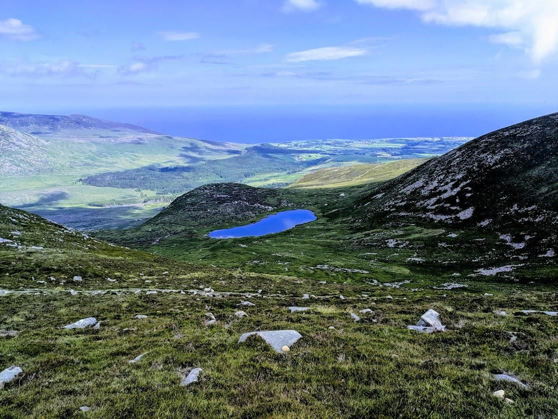 Blue Lough Mourne Mountains Co Down Ireland 1116x837 Oc With Images Ireland Culture Ireland Beach Ireland Weather