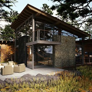 Pin By Melva Rojas On Eco Huts House Exterior Modern House Design Architecture House