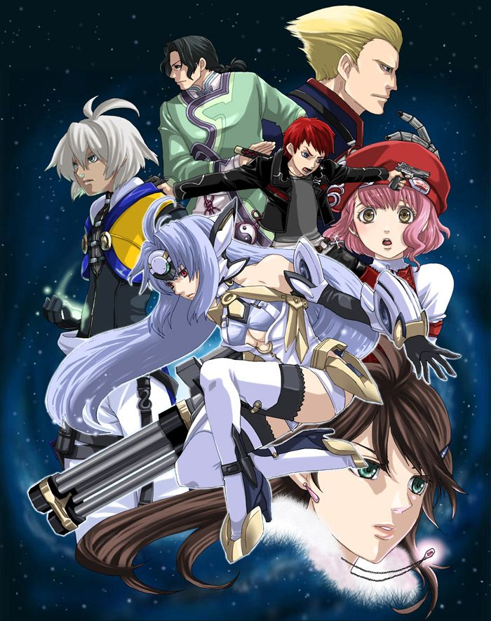 Xenosaga.full.357991.jpg 700×885 pixels Anime, Anime