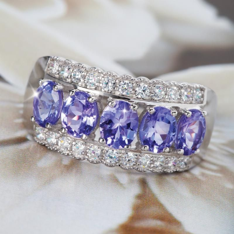 Tanzanite Buying Tanzanite: Stauer Karatu Tanzanite Ring... The Gem Of The Century