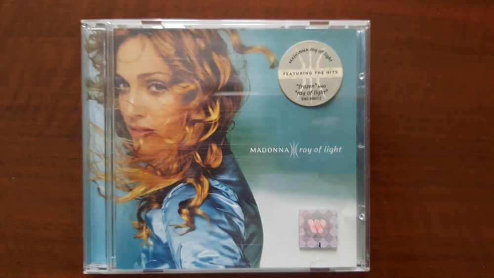 Madonna Ray Of Light CD EU 9362-46847-2 Mint Rebel Heart Tour