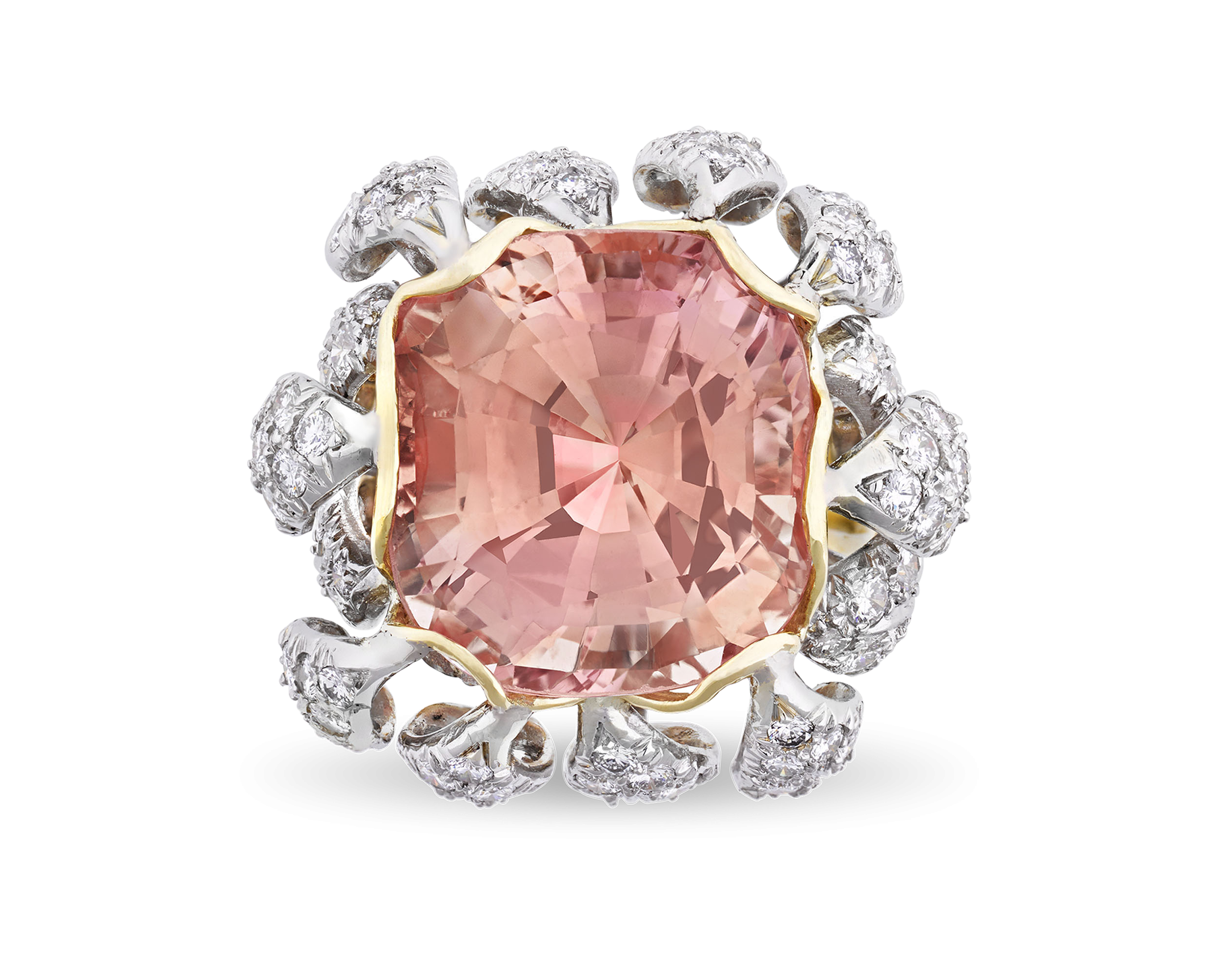 Jean Schlumberger Padparadscha Sapphire Ring, 22.85 Carats - Rings ...