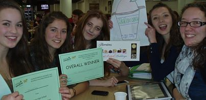 We won the Games Evening- Create and present a cereal product!