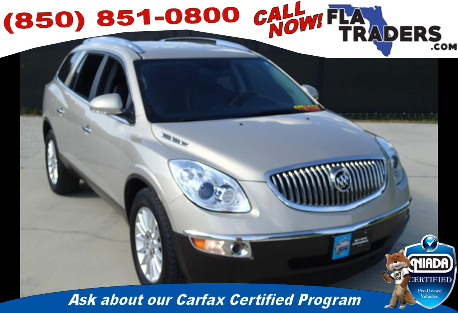 2012 BUICK ENCLAVE - Florida Traders Used Cars in Panama City FL ...